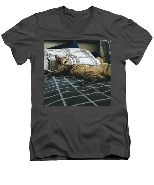 Emma1 Men's V-Neck T-Shirt