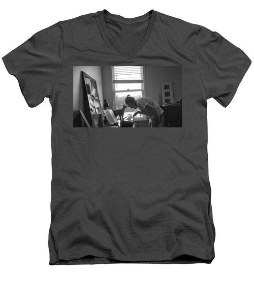 Emma3 Men's V-Neck T-Shirt