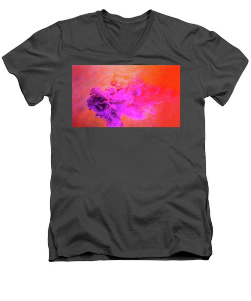 Emotional Fusion  - Abstract Art Photography Men's V-Neck T-Shirt by Modern Art Prints