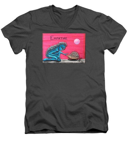 Empathetic Alien Men's V-Neck T-Shirt