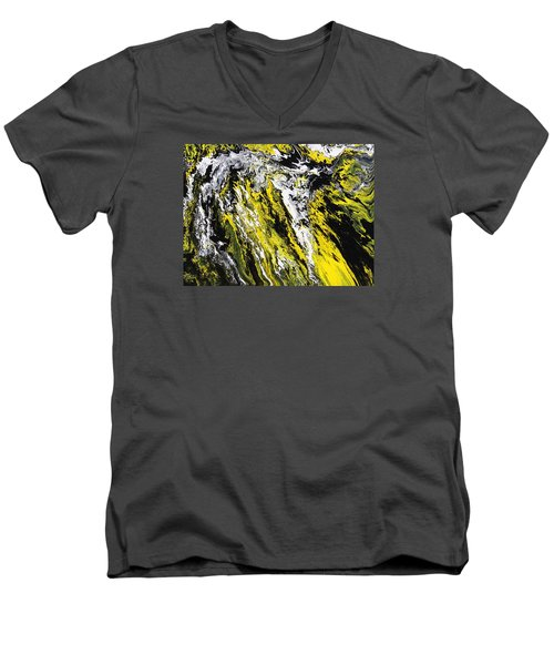 Emphasis Men's V-Neck T-Shirt by Ralph White