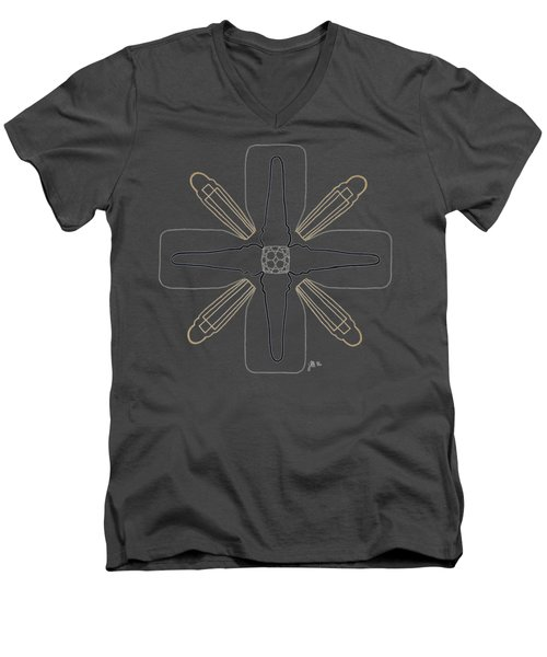 Empire - Dark T-shirt Men's V-Neck T-Shirt