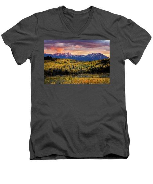 Empire Pass Autumn Men's V-Neck T-Shirt