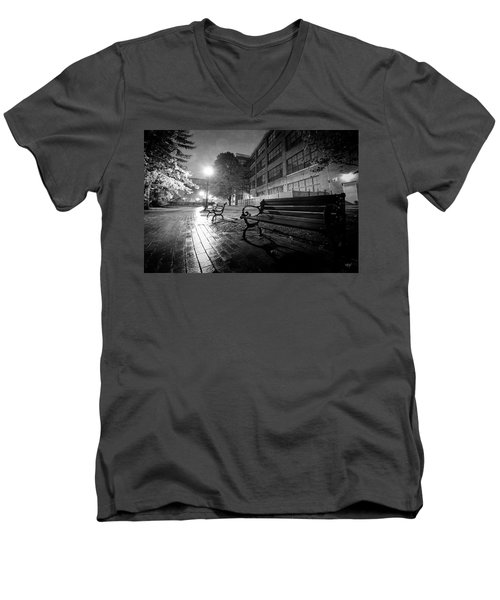 Men's V-Neck T-Shirt featuring the photograph Emptiness by Everet Regal