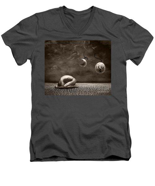 Emptiness Men's V-Neck T-Shirt