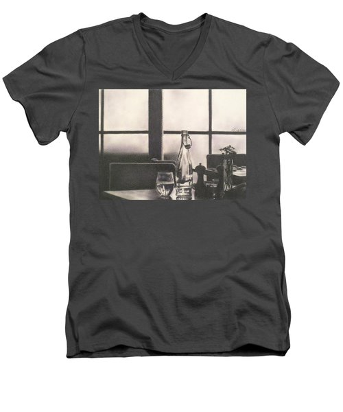 Empty Glass Men's V-Neck T-Shirt
