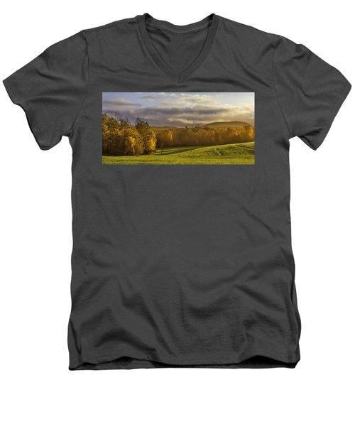 Empty Pasture - Cows Needed Men's V-Neck T-Shirt