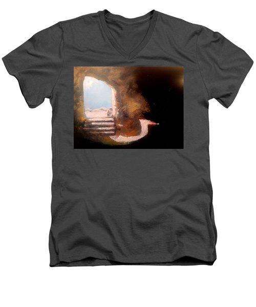 Empty Tomb Men's V-Neck T-Shirt
