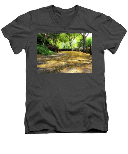 Enchanted Path Men's V-Neck T-Shirt