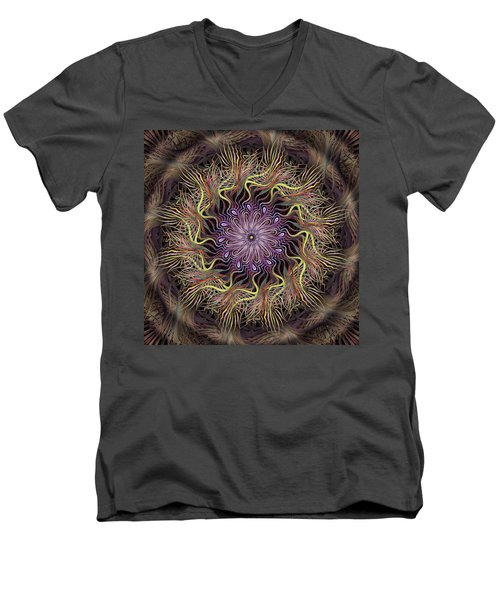 Enchanted Florist Men's V-Neck T-Shirt