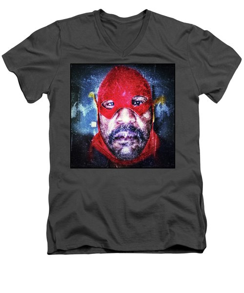 Encounters With Lord Harden Number One Men's V-Neck T-Shirt