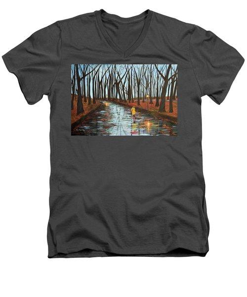 End Of Autumn Men's V-Neck T-Shirt
