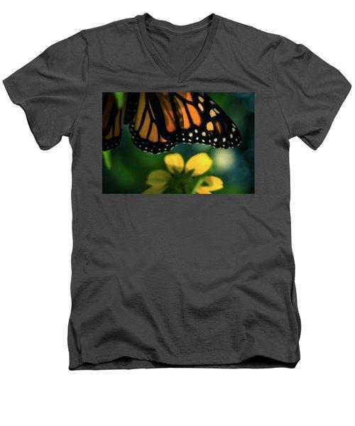 End Of Summer Monarch Men's V-Neck T-Shirt