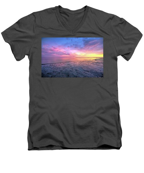 End Of The Day. Men's V-Neck T-Shirt