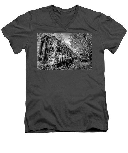 End Of The Line Men's V-Neck T-Shirt