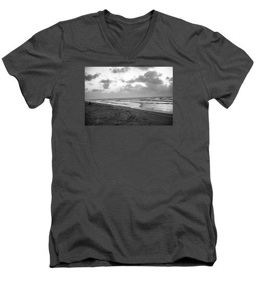 End Of The Season Padre 1 Men's V-Neck T-Shirt
