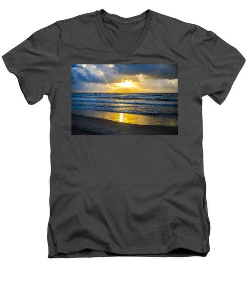 End Of The Season Padre 26 Men's V-Neck T-Shirt