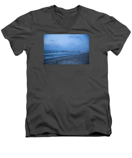 End Of The Season Padre 3 Men's V-Neck T-Shirt
