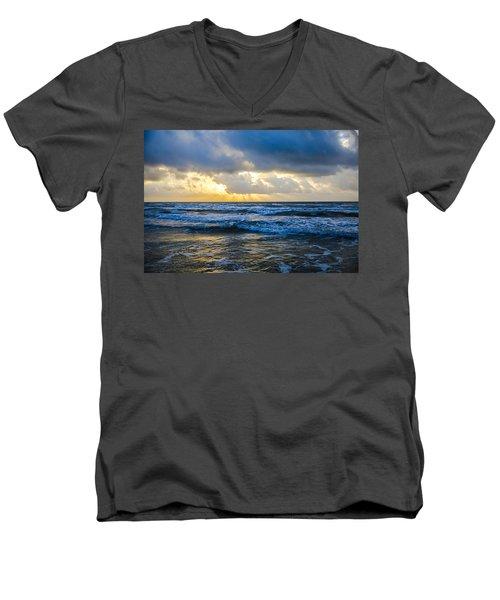 End Of The Season Padre 35 Men's V-Neck T-Shirt