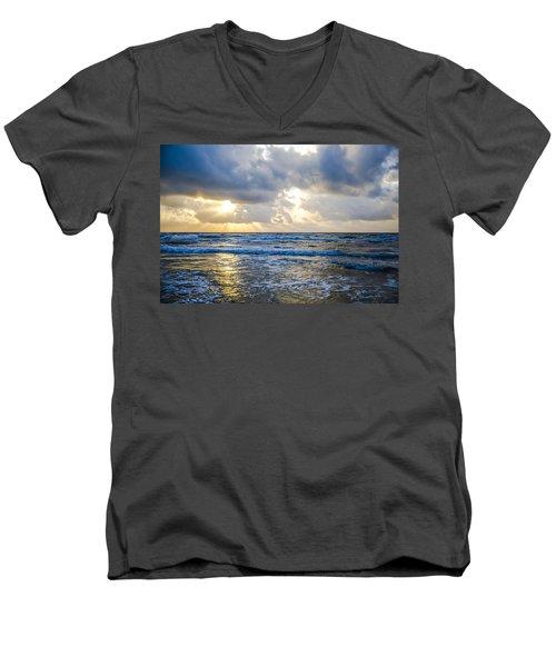 End Of The Season Padre 40 Men's V-Neck T-Shirt