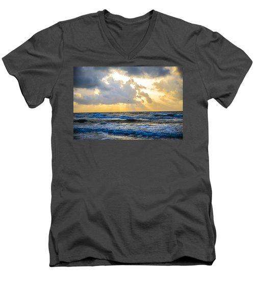 End Of The Season Padre 45 Men's V-Neck T-Shirt