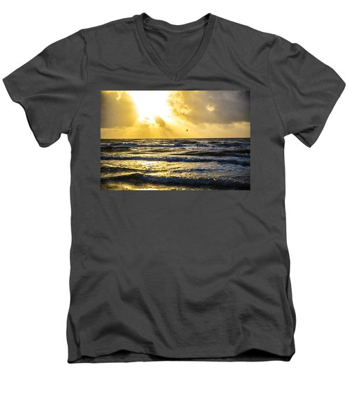 End Of The Season Padre 52 Men's V-Neck T-Shirt