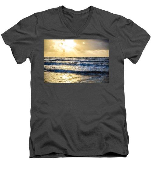 End Of The Season Padre 57 Men's V-Neck T-Shirt