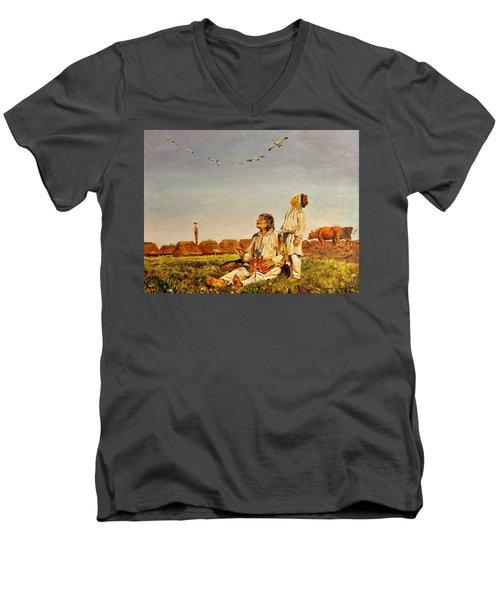 End Of The Summer- The Storks Men's V-Neck T-Shirt
