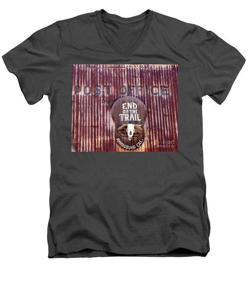 End Of The Trail Men's V-Neck T-Shirt