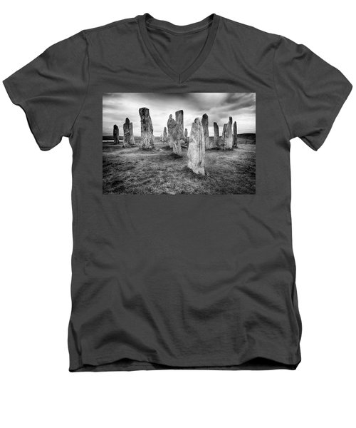End Of The World Men's V-Neck T-Shirt