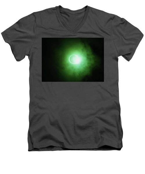 End Of Totality Men's V-Neck T-Shirt