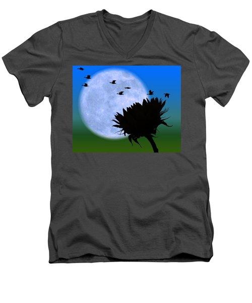 Endings . . . . . Men's V-Neck T-Shirt
