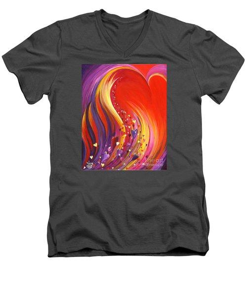 Arise My Love Men's V-Neck T-Shirt