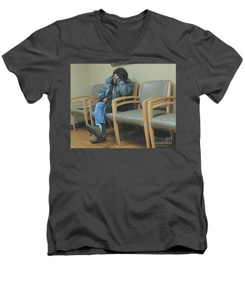 Endlessly Waiting Men's V-Neck T-Shirt