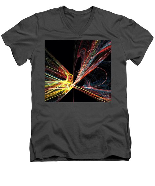 Energized  Men's V-Neck T-Shirt