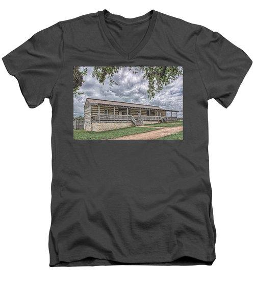 Enlisted Men's Quarters Men's V-Neck T-Shirt