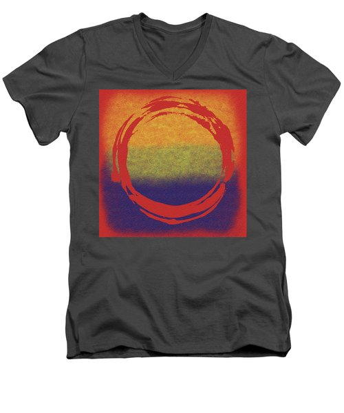 Enso 7 Men's V-Neck T-Shirt