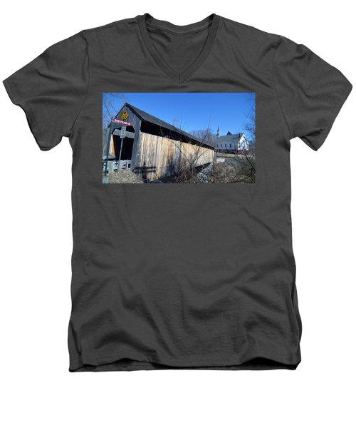 Enter Here Men's V-Neck T-Shirt