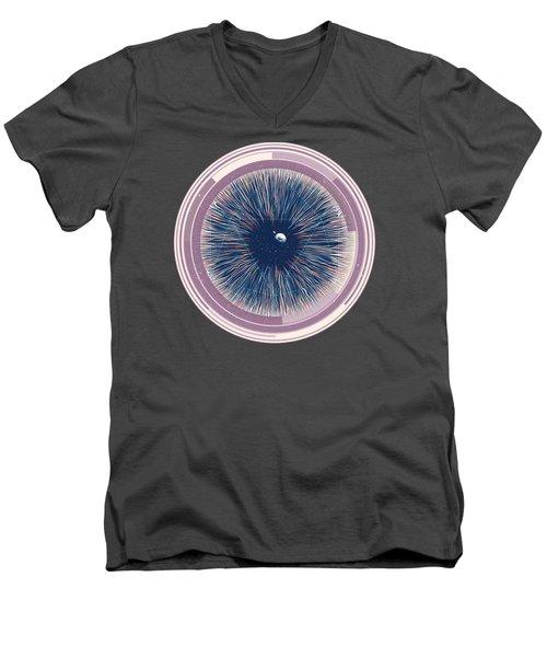 Entia Men's V-Neck T-Shirt by Mustafa Akgul