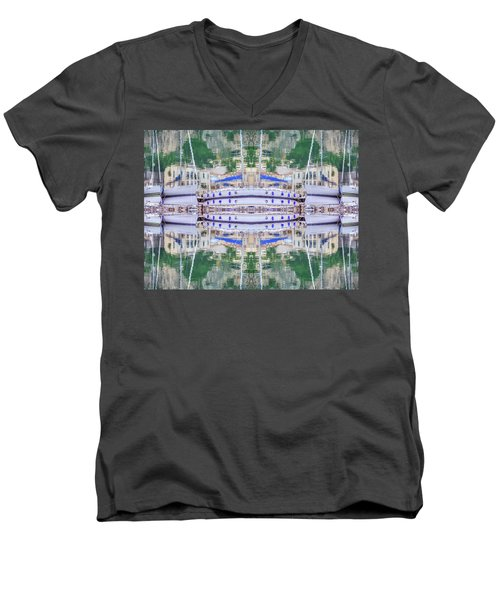 Entranced Men's V-Neck T-Shirt by Keith Armstrong