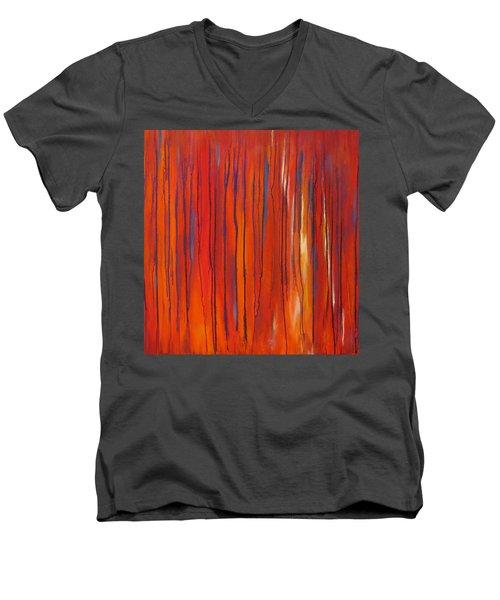Ephemeral Men's V-Neck T-Shirt