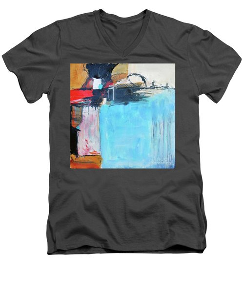 Equalibrium Men's V-Neck T-Shirt by Ron Stephens