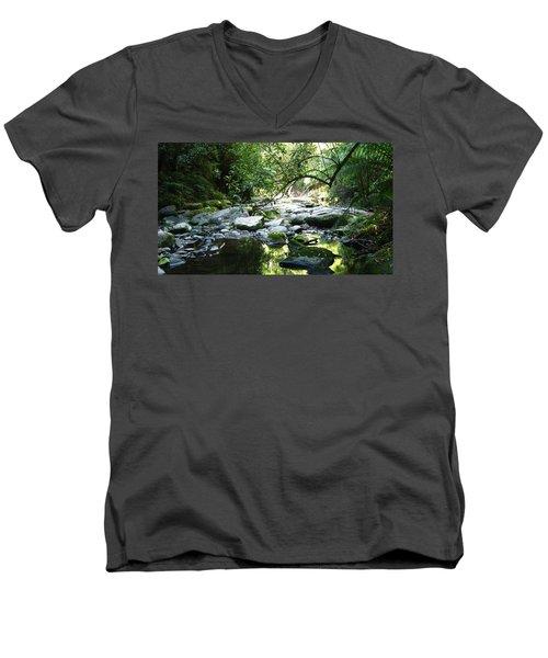 Erskine River Men's V-Neck T-Shirt