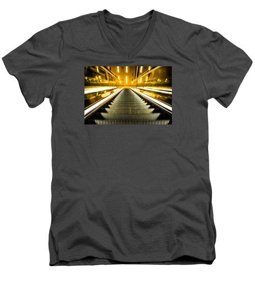Escalator Men's V-Neck T-Shirt