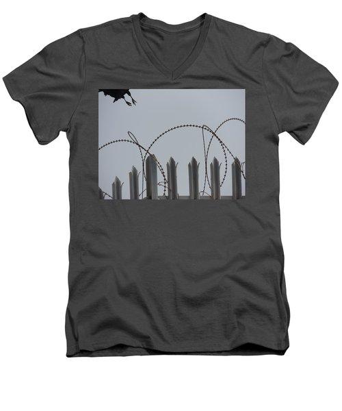 Escape To Freedom Men's V-Neck T-Shirt