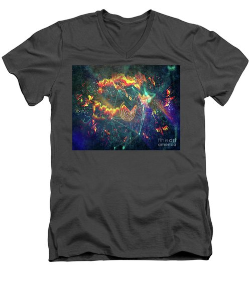 Escaping The Vortex Men's V-Neck T-Shirt