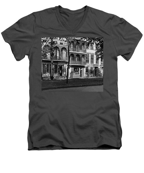 Esplanade Ave Men's V-Neck T-Shirt
