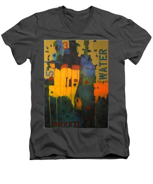 Essence Men's V-Neck T-Shirt
