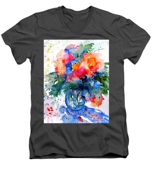 Essence Of Summer #2 Men's V-Neck T-Shirt