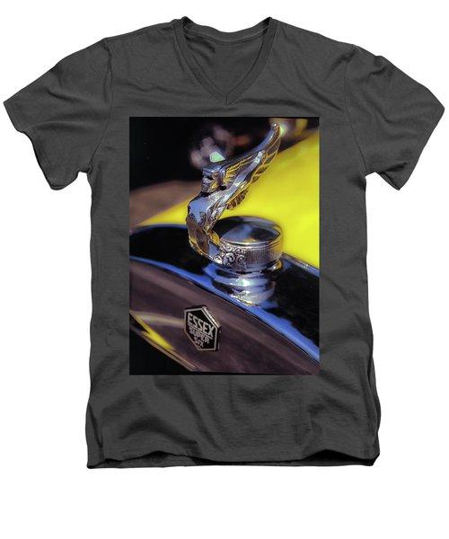 Essex Super 6 Hood Ornament Men's V-Neck T-Shirt